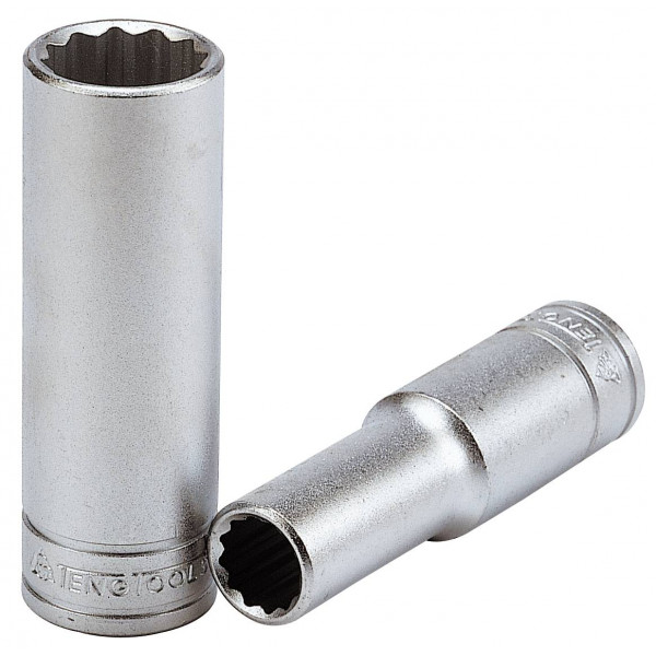 "TENG TOOLS 1//2/"" Metric 12 Point Deep Socket 10mm 36mm"