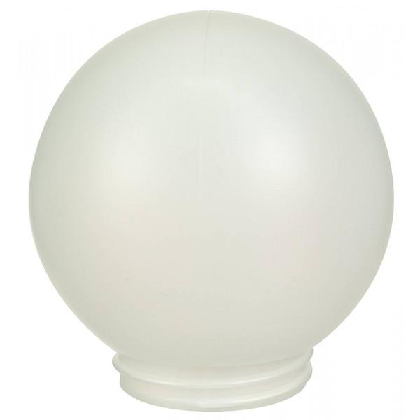 PLASTIC GLOBE OPAL WHITE 150MM image