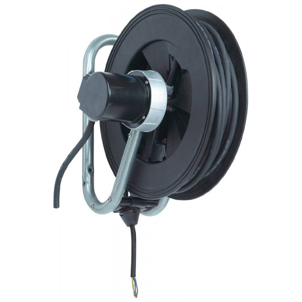 Cable reel open Nederman image