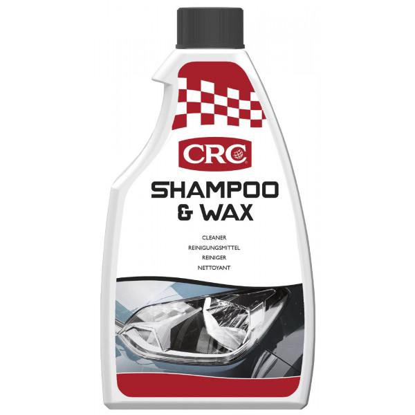 CAR CARE SHAMPOO & WAX 500ML image